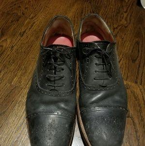 Grenson Shoes - Grenson black lace up men's shoes size 10 brown